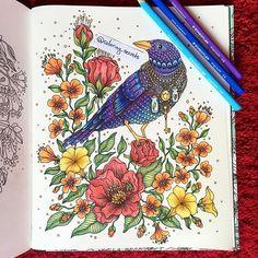 Dagdrömmar  Davlin Publishing #adultcoloring