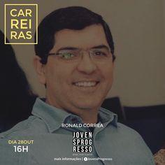 Ronald Correia é o carioca gente boa. Administrador grande experiência na área de vendas. Sabe muito bem o que alcançar metas e objetivos. Ele vai repartir um pouco da sua experiência num talk sobre A carreira que você pode desenvolver.  Não fique de fora dessa programação acesse o link http://ift.tt/2yTPX9y  e inscreva-se agora.  CARREIRAS é um fórum de conversação e orientação que acontecerá aqui na Comunidade Progresso Rua Jacutinga 846 - Pe. Eustáquio no sábado 28out das 16h-18h.  Venha…