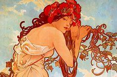 Obra de Alphonse Mucha.