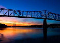 Madison Indiana Sunset
