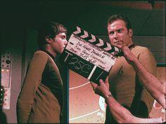 "Filming ""Spock's Brain"" 7-15-68"