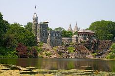 Turtle Pond and Belvedere Castle, Central Park NYC