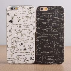 School Subject Math Chemistry Apple iPhone Case | Boy Girl | Best Friends…