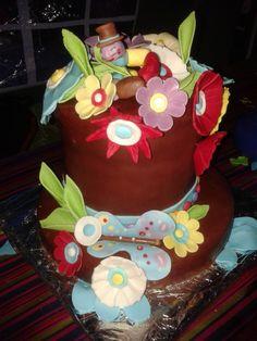 Mad hatters cake my Aunty Julia McGrath made