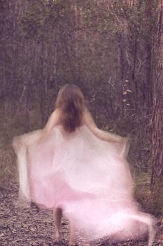 ethereal pink- If I ever run away, I will wear pink go far and fast.