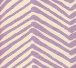 Quadrille Alan Campbell Zig Zag Lavender on Tint