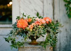 beautiful. {Photography: Silvana di Franco, Floral Design: Max Gill}