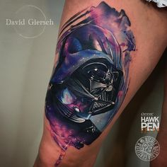 David Giersch - tattoo artist from Berlin (Germany) works in the technique of realism, adding realistic images and portraits of his own fantastic…