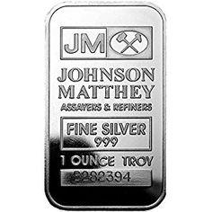 JM Silver Bar 1 oz