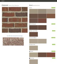 Sheltered bluff union city collection residential brick boral behr ralph lauren paint - Breathable exterior masonry paint collection ...