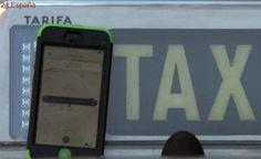 Los taxistas convocan paros y protestas hoy contra servicios como Uber o Cabify
