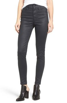 Free shipping and returns on Levi's® 'Mile High' High Rise Super Skinny Jeans (Coated Onyx) at Nordstrom.com. Coated, onyx-hued denim jeans get a modern update with an ultra-high rise and a super-skinny silhouette that flatters the frame.