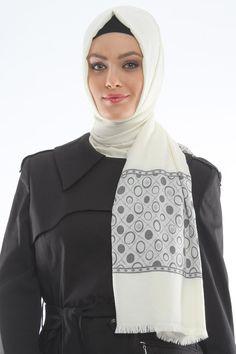white #scarf #shawl #muslimah_style #muslimahfashion #hijab