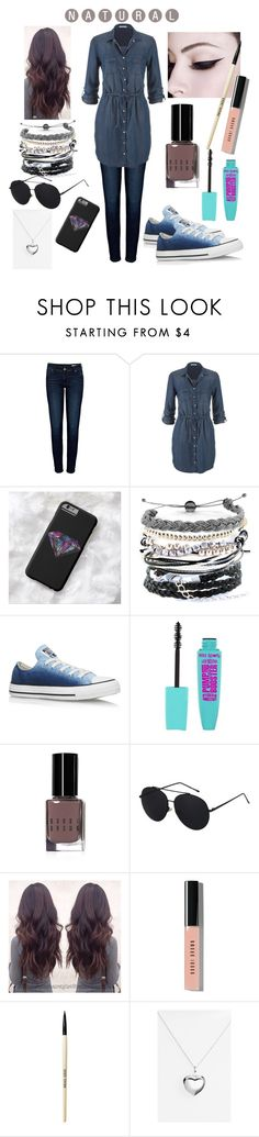"""""""#natural #casual"""" by jami-y ❤ liked on Polyvore featuring Anine Bing, maurices, Domo Beads, Converse, Bobbi Brown Cosmetics and Argento Vivo"""