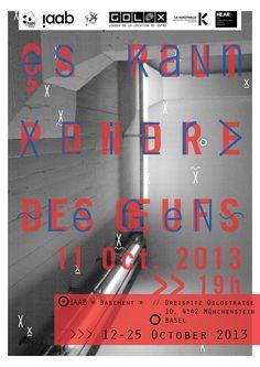 Es can Eire Legen X Exposition X Vernissage on Behance
