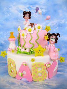 Pastel Baby Cake