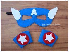 Máscara de Capitão América