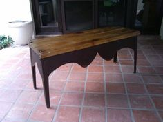 Iron Wood Council table by RJ DIAZ & CO.