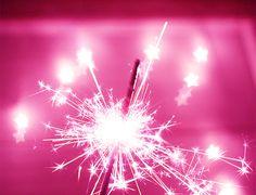 pink sparklers