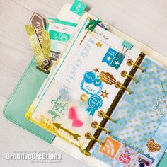Creative Creations by Andrea Gomoll | Free Download: DIY Planner Sticker Print and Cut File for Silhouette Cameo & Tutorial | http://andrea-gomoll.de