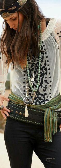 ☮ Bohemian Style ☮                                                                                                                                                                                 More