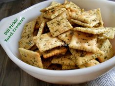 Dill Pickle Snack Crackers