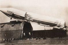 Crash of Deutschland II, under the command of Hugo Eckener