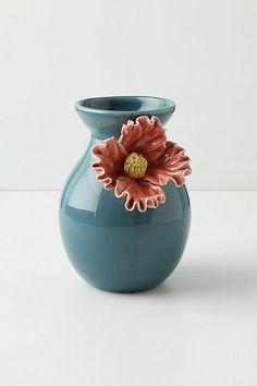Pretty Pansy Vase, Tall Photo
