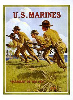 American war propaganda poster