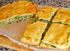 Placinta cu praz Spanakopita, Quiche, Breakfast, Ethnic Recipes, Food, Hoods, Meals, Custard Tart