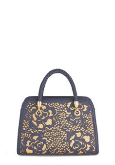 Take Gold of You Bag, #ModCloth  laser cut detailing