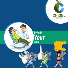 Chisel Dental Clinic can provide comprehensive #dental services to your entire #family.we can provide all your dental needs in-house. For more log on to : www.dentalclinicbangalore.com Dental Services, Pediatrics, Dentistry, Your Smile, Clinic, Disney Characters, Fictional Characters, House, Home