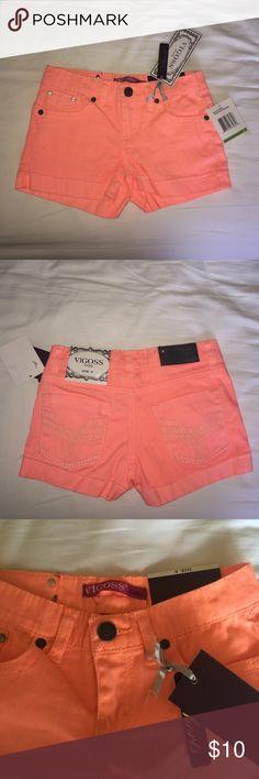 Brand New Kids Shorts Bogies Jeans for Girl Kids. Size 8 Vigoss Bottoms Shorts