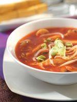 Zoete Chinese tomatensoep
