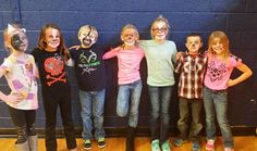 TAmmy Massman's students dressed up as characters in the NPHC! Awesome job.