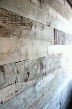 Paredes de madera