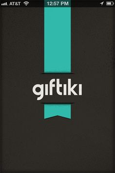 lovely ui (launch screen on Giftiki)