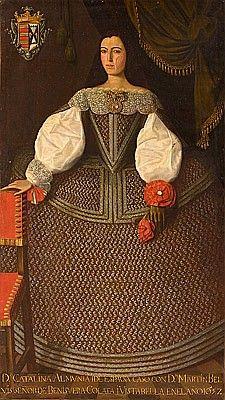 Doña Catalina de Almunia. Historical Costume, Historical Clothing, Spanish Woman, Spanish Ladies, 17th Century Fashion, 18th Century, Court Dresses, Dresses Dresses, Renaissance