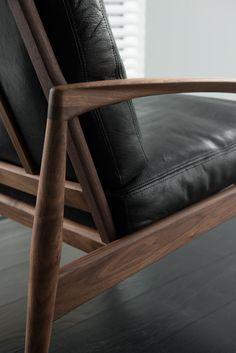 Paper Knife Sofa by Miyazaki Chair Factory Sofa Design, Lounge Chair Design, Furniture Design, Retro Office Chair, Office Chairs, Big Comfy Chair, Lounge Chair Cushions, Inexpensive Furniture, Vintage Chairs