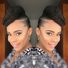 Gone are the days when cornrow hairstyles were rocked by older women and a few section of ladies but today it has become one of the most popular braided hairstyles but not only because it is easy to handle, but because it can be done in different amazing styles. From braided, to twisted, to big … #WomensHairstylesProfessional #WomensHairstylesLongTrends