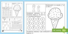 * NEW * Recunoașterea literei Î - Fișă de lucru - clasa pregătitoare, joc, alfabet, litere, clasa I, recapitulare, comunicare în limba română, lit Curriculum, Bullet Journal, Google, Resume, Teaching Plan