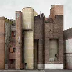 Belgian photographer, Filip Dujardin, creates fictional buildings out of photographs of real ones.