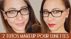 Toutes les infos à connaitre sur le maquillage avec des lunettes que tu sois myopes, presbyte ou astigmate + tutoriel maquillage pour lunettes en vidéos !