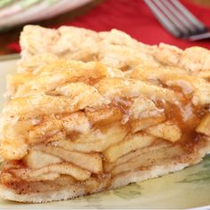 A tried and true favorite apple pie recipe with homemade pie crust recipe and how to make lattice for your pie.