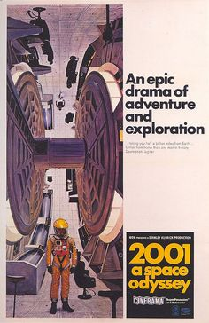2001 A space odyssey.