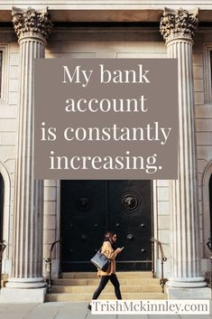 My bank account is constantly increasing. Affirmations law of attraction affirmations for women affirmations for wealth money affirmations affirmations for abundance manifesting affirmations. Prosperity Affirmations, Affirmations For Women, Morning Affirmations, Money Affirmations, Manifestation Law Of Attraction, Law Of Attraction Affirmations, Manifestation Journal, Law Of Attraction Money, Law Of Attraction Quotes