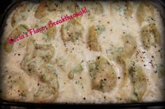 Chicken Alfredo Stuffed Shells « Kecia's Flavor Breakthrough!
