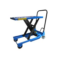 Our 150kg manual single mobile scissor lift table is a platform on wheels to lift and lower loads up to 150kg. Free UK delivery for our SC-150-S-M.