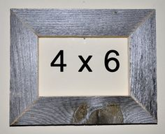 4 x 6 Driftwood Picture Frame 331 by DriftwoodMemories on Etsy
