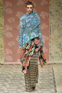 #RichardQuinn Autumn/Winter 2018 Ready To Wear | British Vogue #LFW